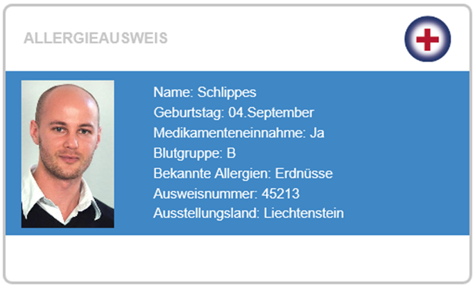 Allergieausweis